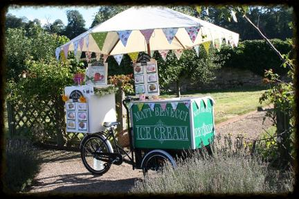 icecream tricycle hire
