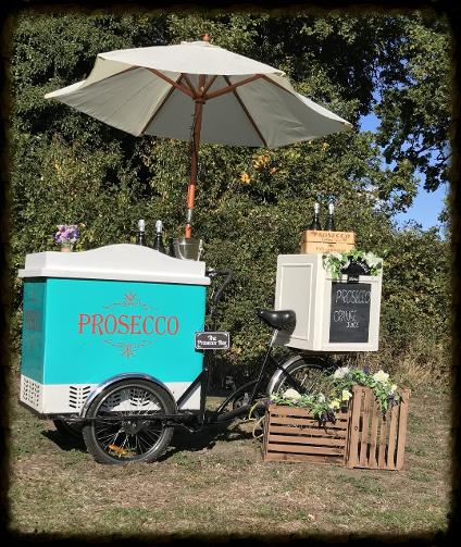 Mobile Prosecco Bar Hire