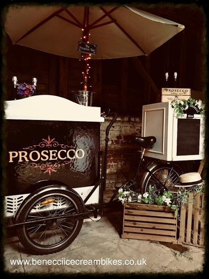 Prosecco Cart Hire