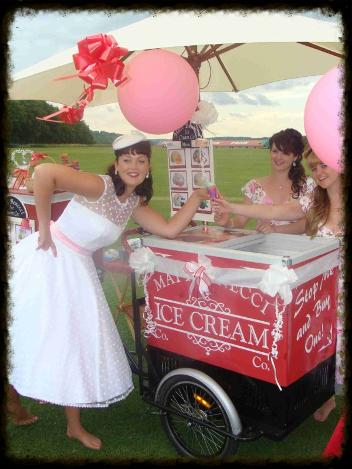 Icecream bikes for hire